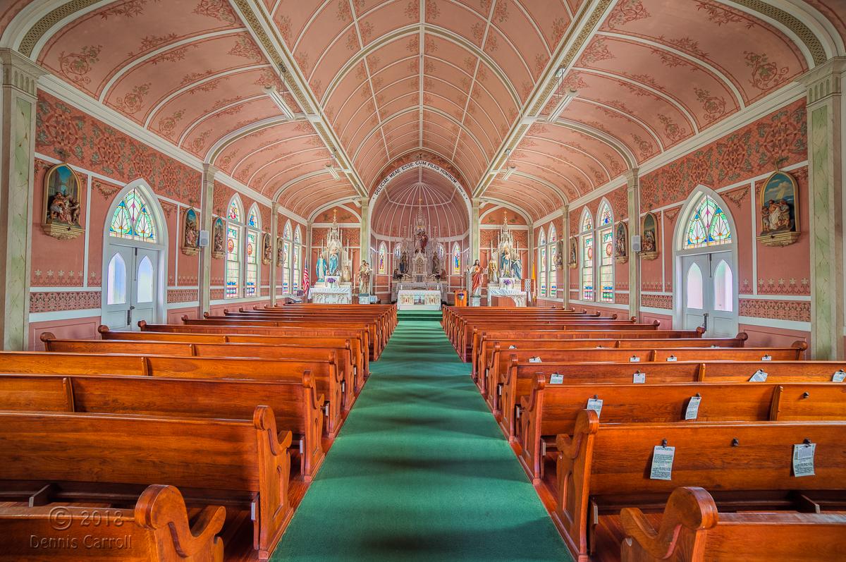 Carroll-Ammannsville-St. John the Baptist Interior-1